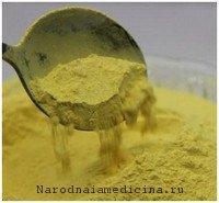 Сосновая пыльца лечит преждевремненную старость