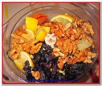 Орехи и лимоны для здорового питания