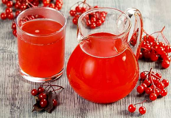Сок из плодов калины