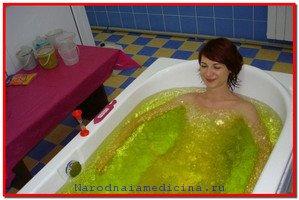 Скипидарные ванны Залманова, показания и противопоказания