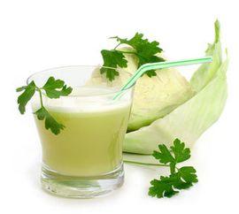 Свежий сок капусты