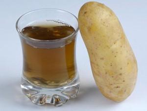 картофельный сок лечение