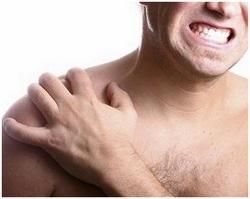 Боли в плечевых суставах