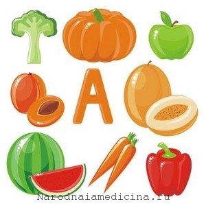 Витамин А. В каких продуктах содержится витамин А